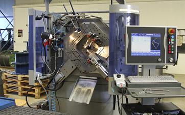 CNC-Maschine für Schenkelfedern